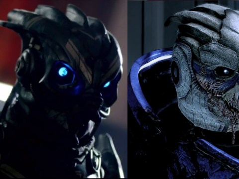 Is Doctor Who ripping off Garrus from Mass Effect?