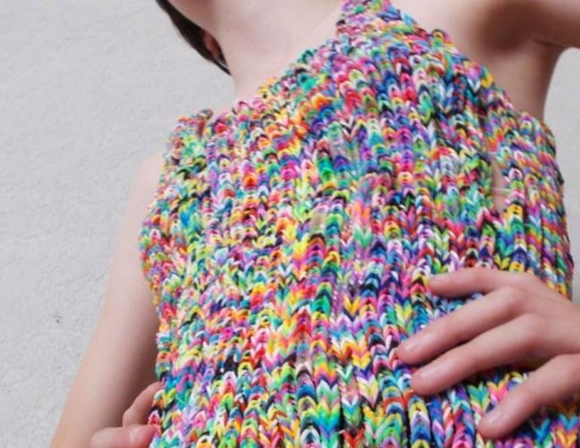Loom-band dress sells on eBay for £170,100… but will the buyer now pay up?