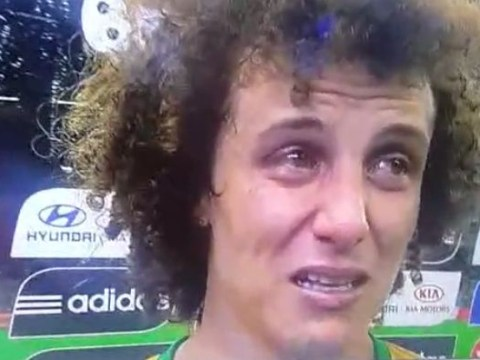 David Luiz is a broken man in interview after crushing Brazil World Cup exit