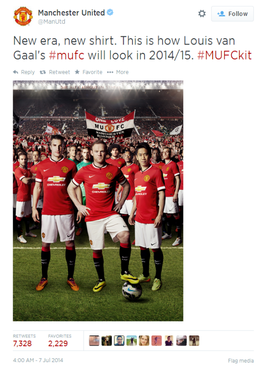 size 40 1a7e3 58c5d Manchester United new kit 2014/15: Fans give thumbs up to ...