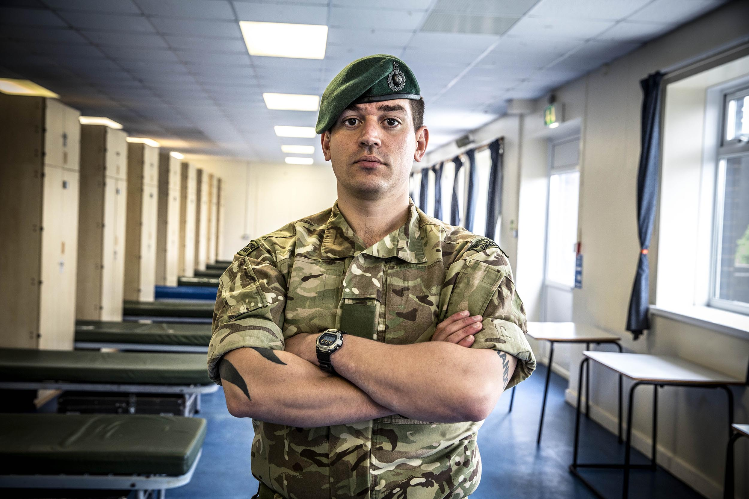 Royal Marines Commando School was compelling and taught us some interesting life lessons