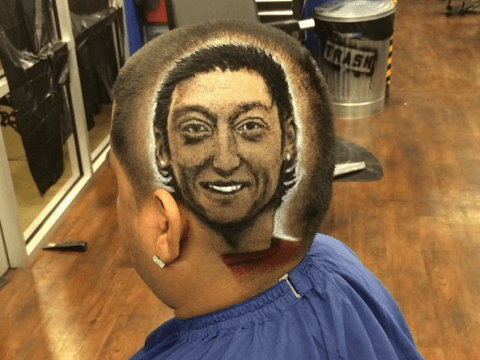 Germany fan celebrates World Cup win with pretty awful Mesut Ozil haircut