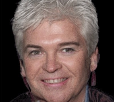 Phil Schofield and Pat Butcher: Separated at birth?
