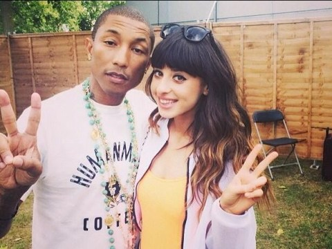Glorious singer Foxes: Touring with Pharrell Williams has been unreal