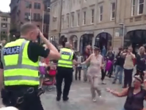 Bobby on the beat: Police officer filmed dancing in the street at Commonwealth Games goes viral