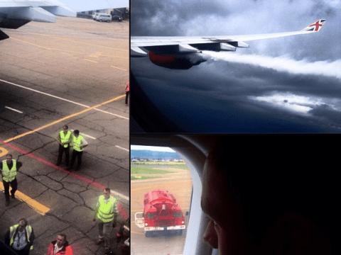 Virgin Atlantic plane carrying Tom Daley and boyfriend Dustin Lance Black forced into emergency landing in Russia