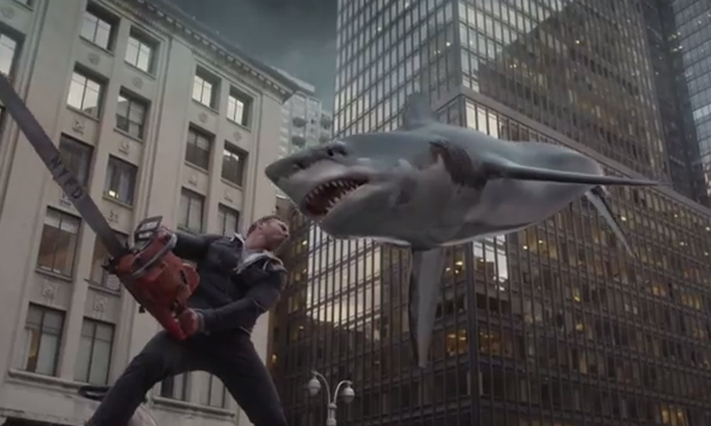 Sharknado 4 is on the way – and it owes more than a debt to Star Wars