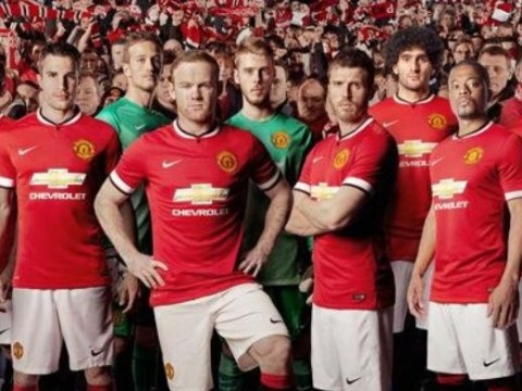 Manchester United fans give thumbs up to new kit – but not Marouane Fellaini wearing it