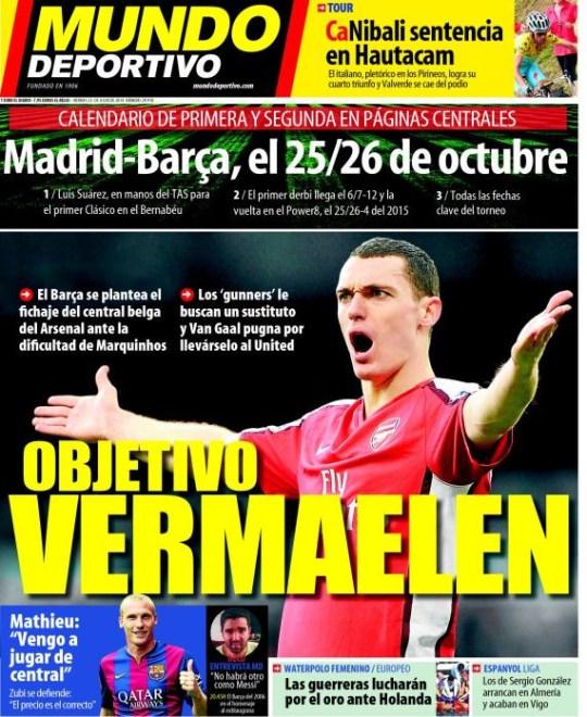 Arsenal Calendario.Arsenal Transfer News Barcelona Hijack Manchester United