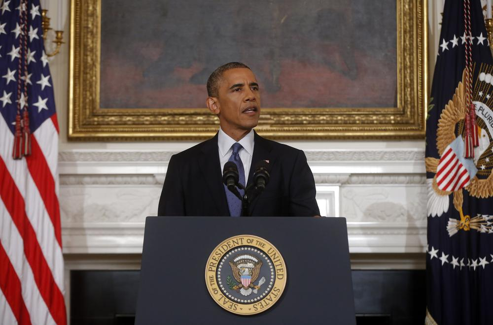 President Obama just authorised dropping bombs over northern Iraq