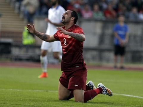 Leicester City eye move for Portugal striker Hugo Almeida