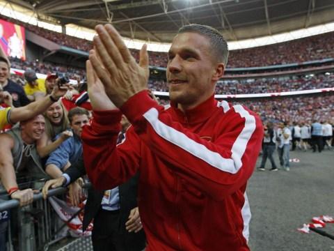 Lukas Podolski nears Arsenal exit after Wolfsburg enter transfer race for forward