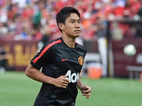 Atletico Madrid step up interest in Manchester United's Shinji Kagawa as alternative to Arsenal's Santi Cazorla