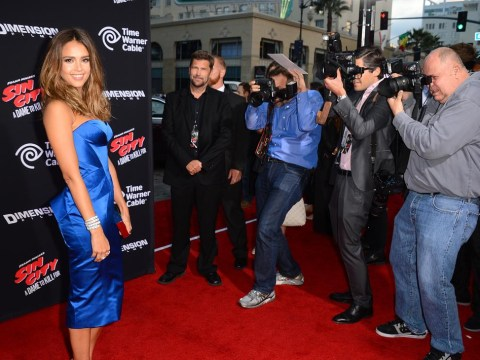 Seriously, Jessica Alba needs to stop looking as hot as she did at the Sin City 2 premiere