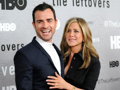 Did Justin Theroux just throw major shade at Jennifer Aniston's ex Brad Pitt?