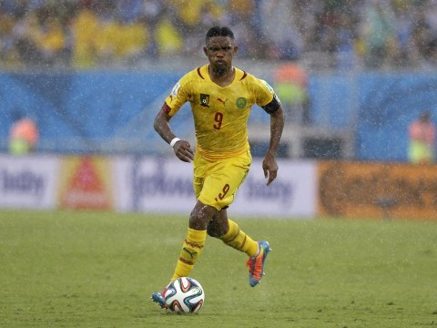 Samuel Eto'o joins Everton on two-year deal