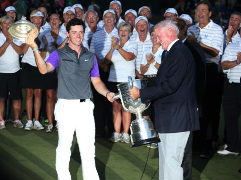Rory McIlroy pulls off impressive catch to rescue US PGA trophy after claiming title