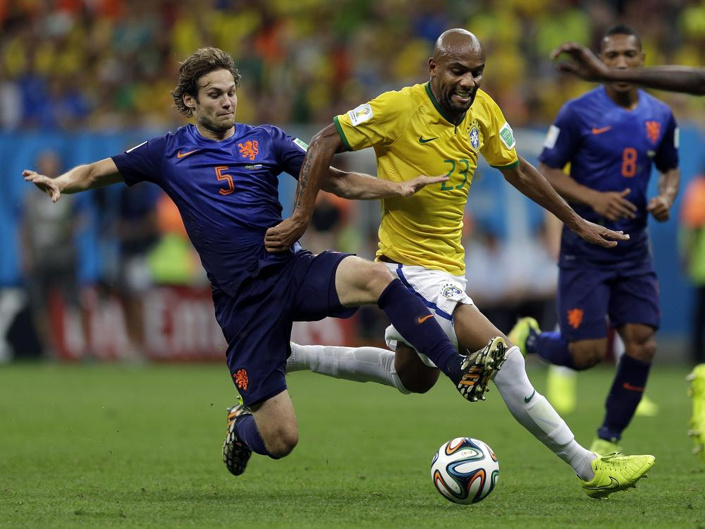 Daley Blind has been linked with Manchester United (Picture: AP)