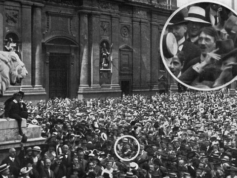 Famous Hitler picture could be fake – and it's been right under his nose all along