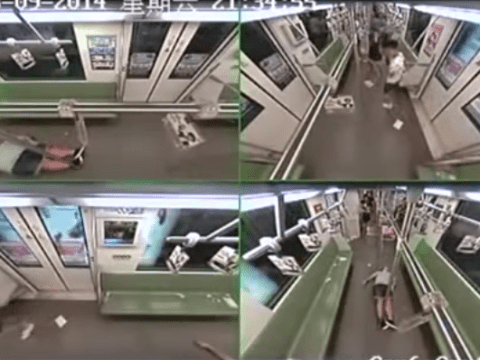 Man faints on subway. All hell breaks loose.