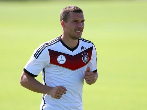 Lukas Podolski close to Arsenal exit as Juventus begin official transfer talks