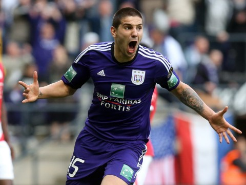 Anderlecht striker Aleksandar Mitrovic confirms £12m transfer move to Newcastle