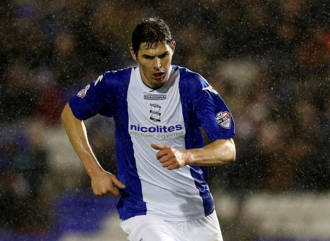 BIRMINGHAM, ENGLAND - JANUARY 14: Nikola Zigic of Birmingham during the FA Cup Third Round match between Birmingham City and Bristol Rovers at St Andrews (stadium) on January 14, 2014 in Birmingham, England. Scott Heavey/Getty Images