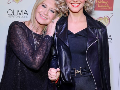 Spot the difference: It's Olivia Newton-John and her new waxwork