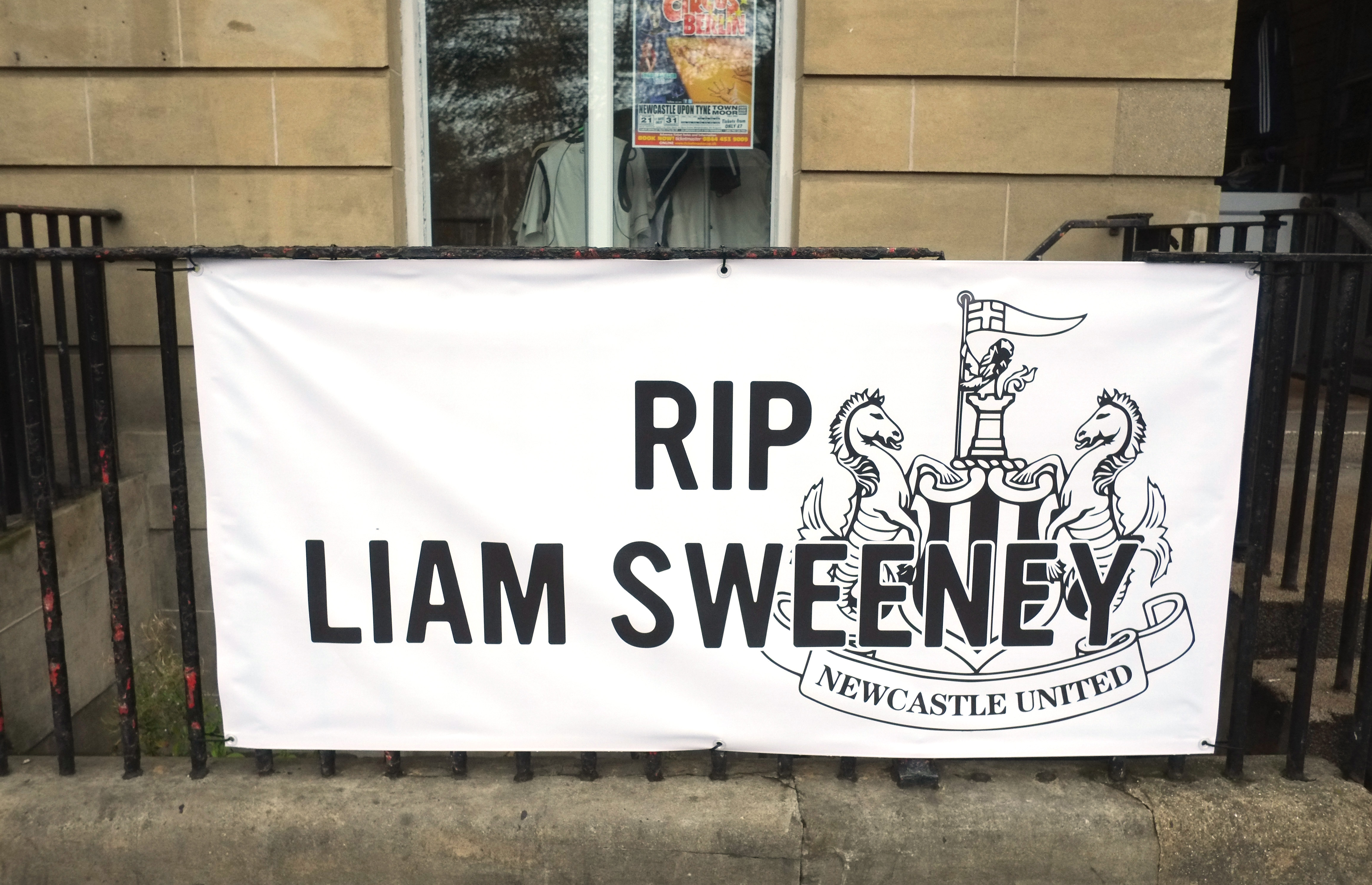Funeral of Newcastle United fan Liam Sweeney, tragic victim of Malaysian Airline flight MH17