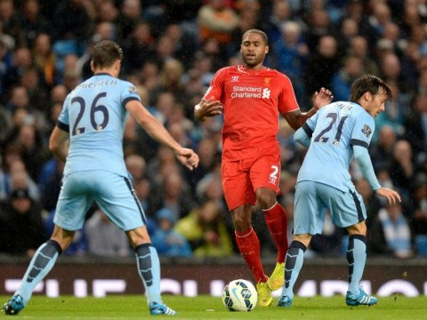 Liverpool fans continue to lay into Glen Johnson during first half at City