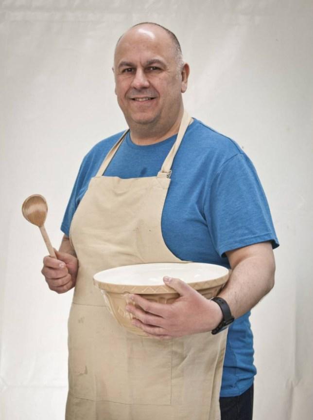 Great British Bake Off Luis Troyano