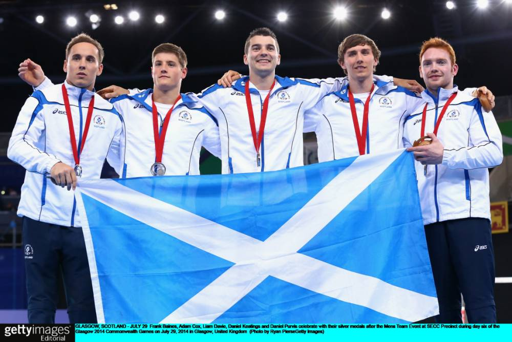 Team gong capped a dream Glasgow Games