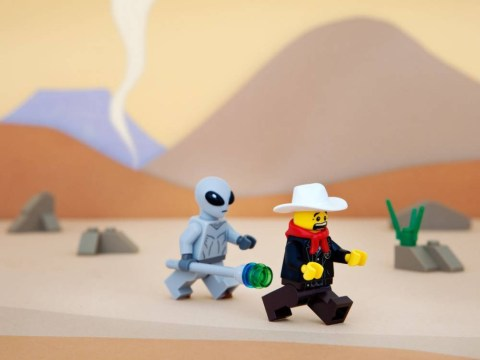 A guy created every US state using Lego, because Lego