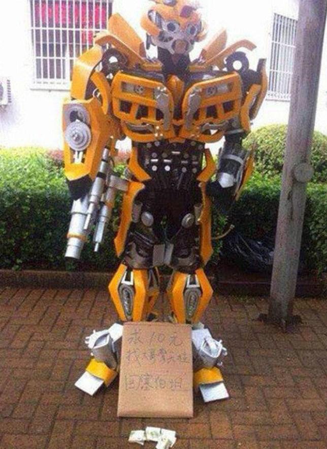 Transformers beggar