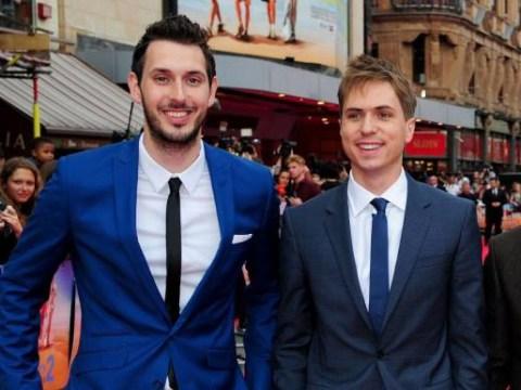 Blake Harrison and Joe Thomas both sick after Inbetweeners-style meat eating challenge