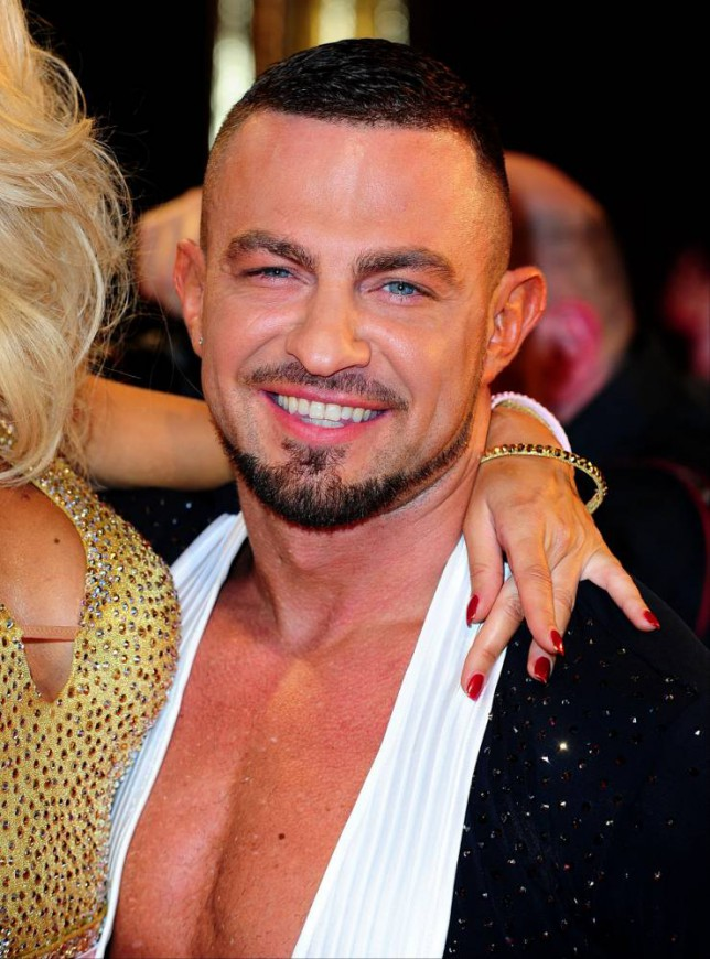 Strictly Come Dancing pro Robin Windsor