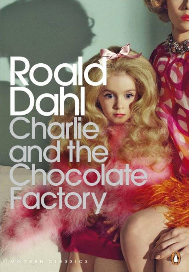 Cover for Roald Dahl 'Charlie and the Chocolate Factory' reissued as a Penguin Modern Classic