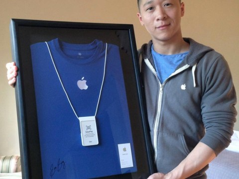 How did he get the job? Apple employee Sam Sung auctions unique business card