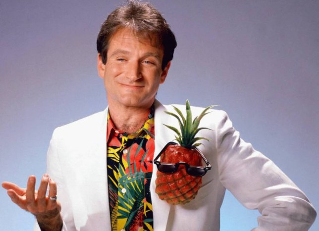 FILE  AUGUST 11:  According to reports August 11, 2014 actor Robin Williams has died of a suspected suicide in Tiburon, California.  He was 63. LOS ANGELES - CIRCA 1999:  Actor and comedian Robin Williams poses for a portrait circa 1999 in Los Angeles, California. (Photo by Harry Langdon/Getty Images)