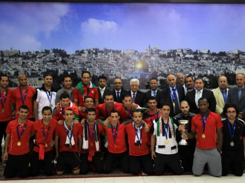 Despite the Gaza bloodshed, Palestine's football team is having the best year in its history