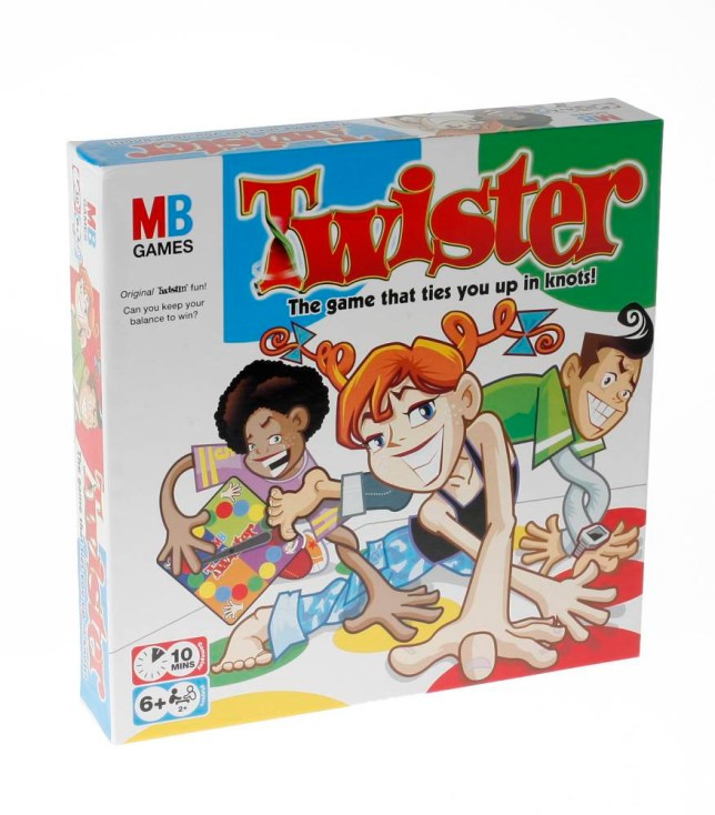 Femail magazine feature. Top ten New Year's Eve party treats. Picture shows: Twister, £9.99, Woolworths. Add some fun to the evening and get all twisted up with those nearest and dearest.   FML - TOBI JENKINS top ten feature FML TOBI JENKINS top ten twister game party treats