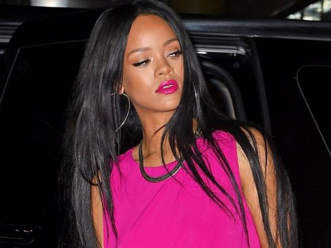 Rihanna absolutely nails it in a hot pink dress – remind us again why we can't be her?