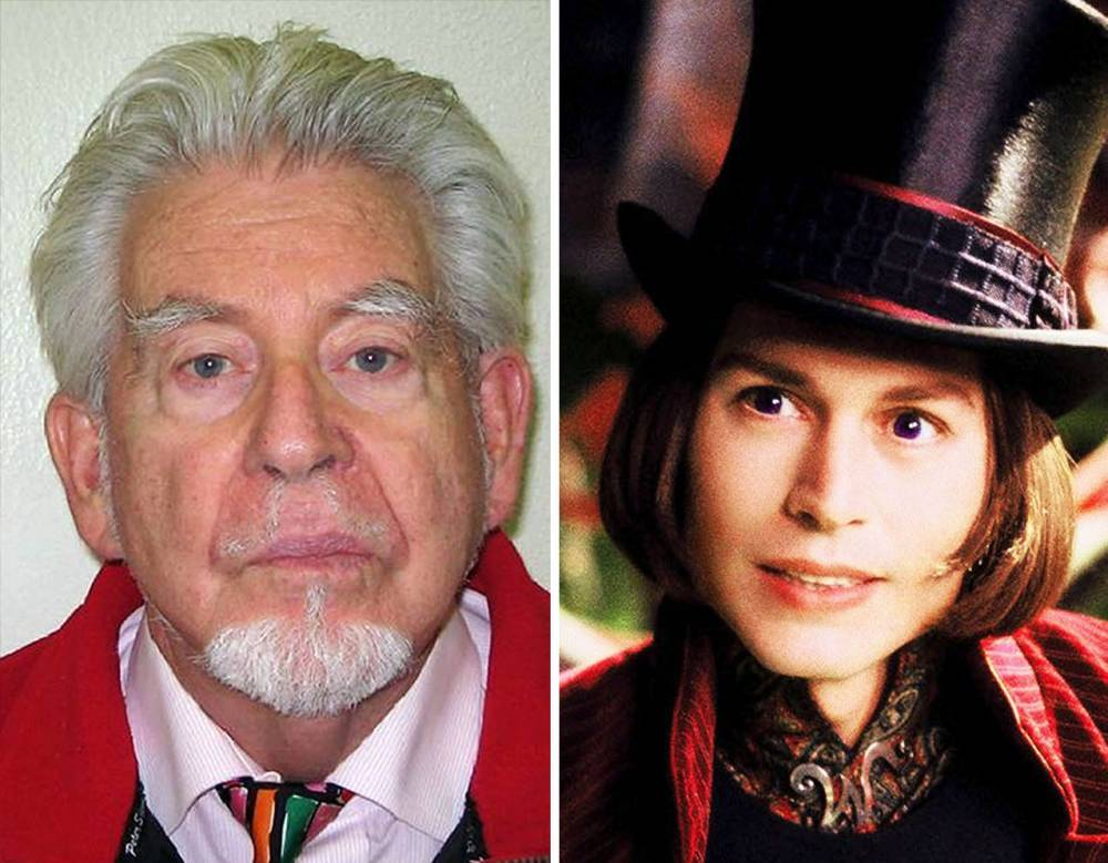 Rolf Harris nicknamed Willy Wonka by fellow prisoners after 'handing out chocolate bars'