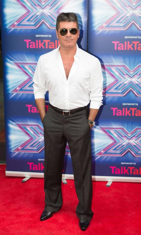 Simon Cowell The X Factor 2014
