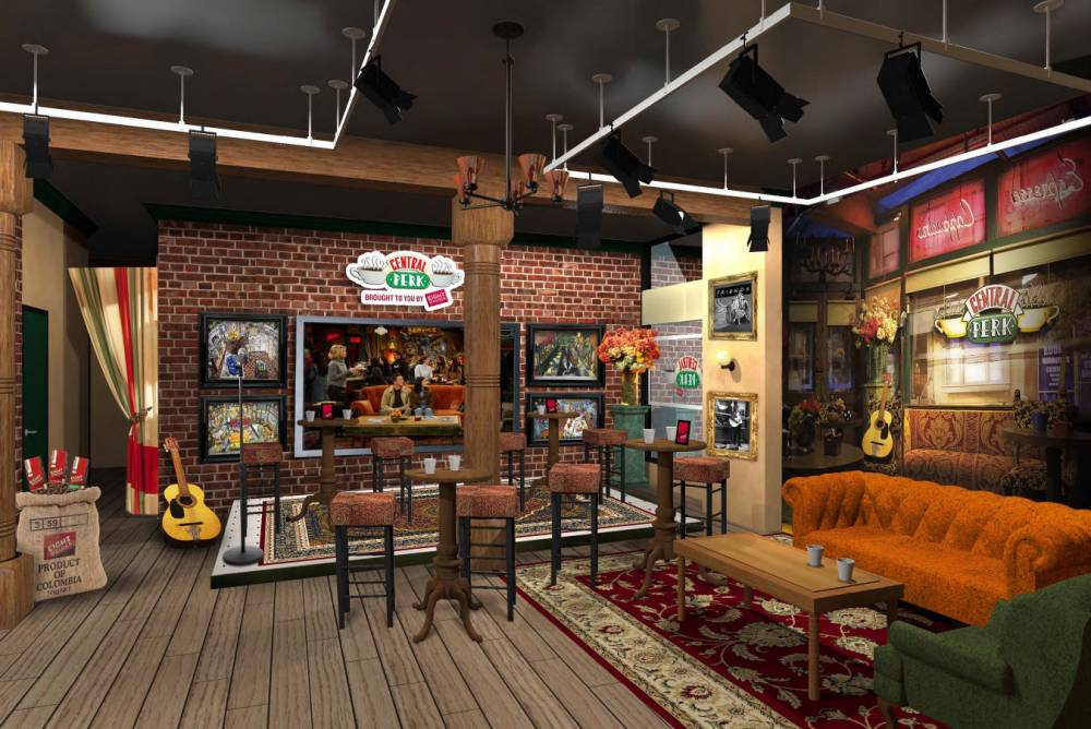 Central Perk pop up cafe