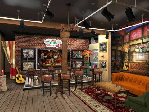 Fancy visiting an actual Friends-style Central Perk in New York? Well it's happening