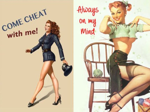 Ah, just what the world was missing – greeting cards for married cheats