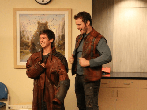 Guardians Of The Galaxy: Chris Pratt pays surprise visit to children's hospital in Star-Lord getup