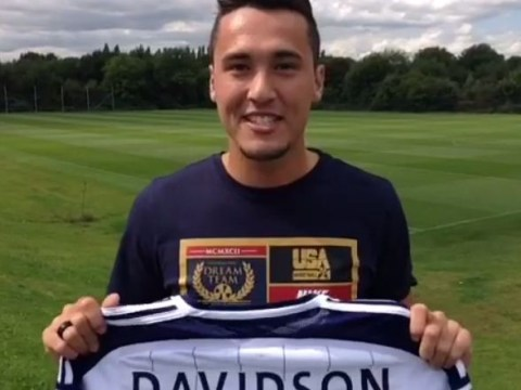 West Brom new-boy Jason Davidson forced into cringeworthy introduction video moments after signing