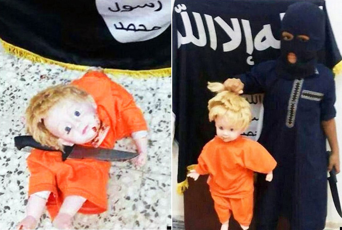 James Foley execution 're-enacted' by child in haunting Twitter post
